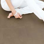 Calabria Canella recycled Leather floor tiles